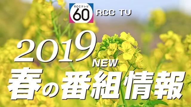 2019 春の番組情報