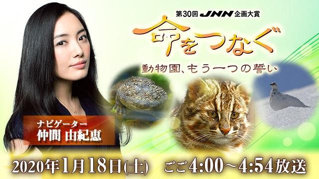 【JNN28局ネット】 第30回JNN企画大賞 命をつなぐ 動物園、もう一つの誓い